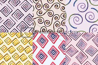 6 Seamless Geometric Patterns