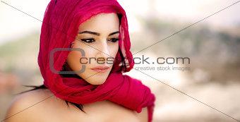 Beautiful arabic woman