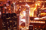 Dubai cityscape at night