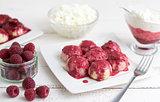 Raspberry Curd Balls