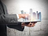 Urban futuristic vision