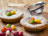 Swiss traditional Easter rice tart