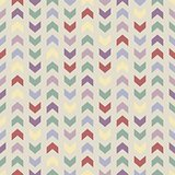 Wrapping chevron tile vector colorful pattern