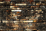 wall with older brick