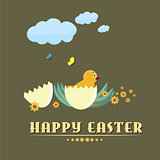Happy easter background #2