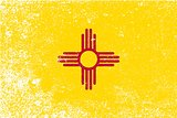 New Mexico State Flag Grunge