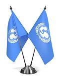 UNICEF- Miniature Flags.