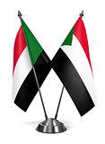 Sudan - Miniature Flags.