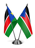 South Sudan - Miniature Flags.