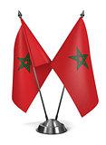 Morocco - Miniature Flags.