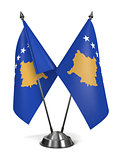 Kosovo - Miniature Flags.