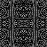 Design seamless monochrome decorative lacy pattern