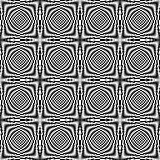 Design seamless illusion checkered background