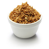 crispy fried onion flakes