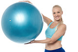 This is an aerobic ball !