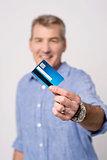 I got my new credit card !