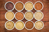 healthy, gluten free grains collection
