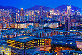hong kong urban night