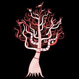 beautiful magic tree