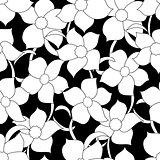 flower seamless black01