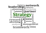 Strategy management concept