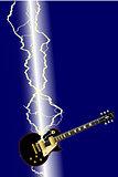 Lightning Guitar