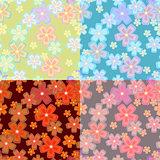 set of flower seamless02
