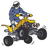 Rider on ATV