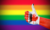 Positive attitude of Canada for LGBT community