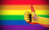 Positive attitude of Spain for LGBT community