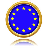 Euro flag button