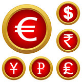 Money set buttons
