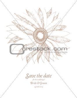 Save The Date Wedding invitation Card