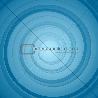 Abstract blue bright circles background