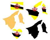Brunei map