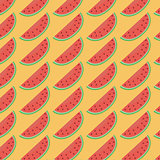 Red watermelon pattern