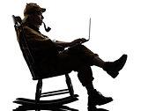 sherlock holmes silhouette computing