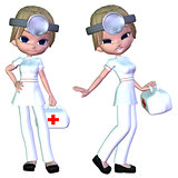 3d Cartoon doctor