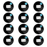 Correspondence set of icons
