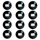Correspondence set of icons