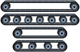 Conveyor Belt With Wheels Pack
