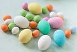 Sugar Chocolate Easter Eggs