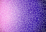 Flat Style violet mosaic abstract background