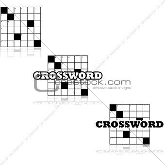 Crossword icons