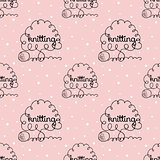 kniting background