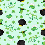 Patricks day. Background. Seamless