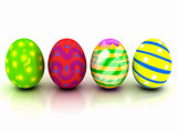 colorful Easter eggs