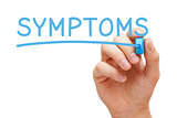 Symptoms Blue Marker
