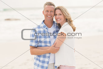 Casual man smiling at camera