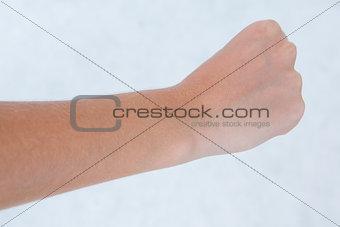 Close hand